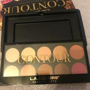 L.A. Colors Makeup - L. A. colors contour face palette